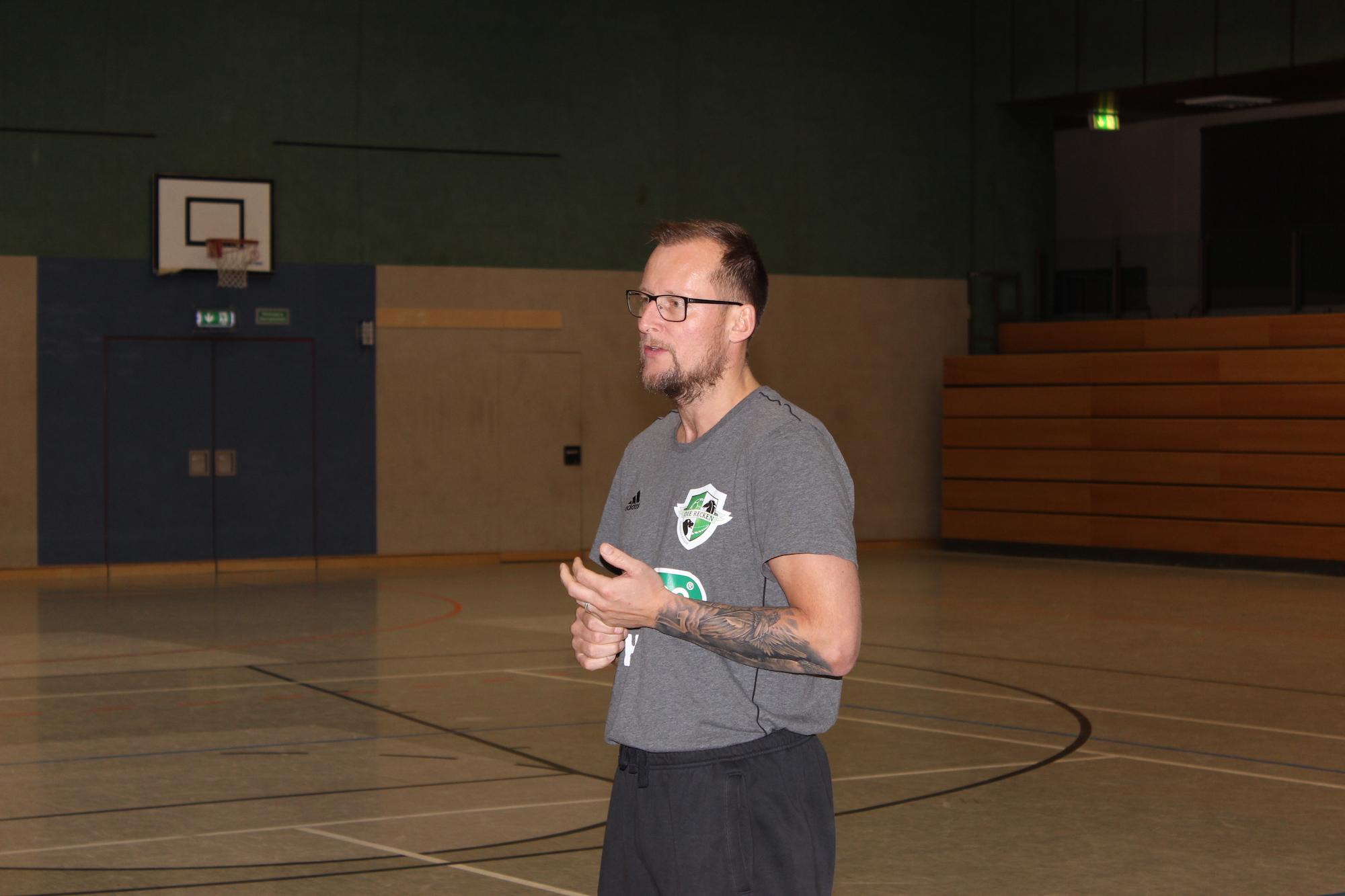 Handballtraining mit Heidmar Felixson