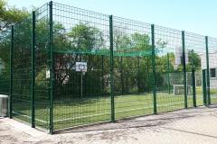 Soccer Court auf dem Schulhof