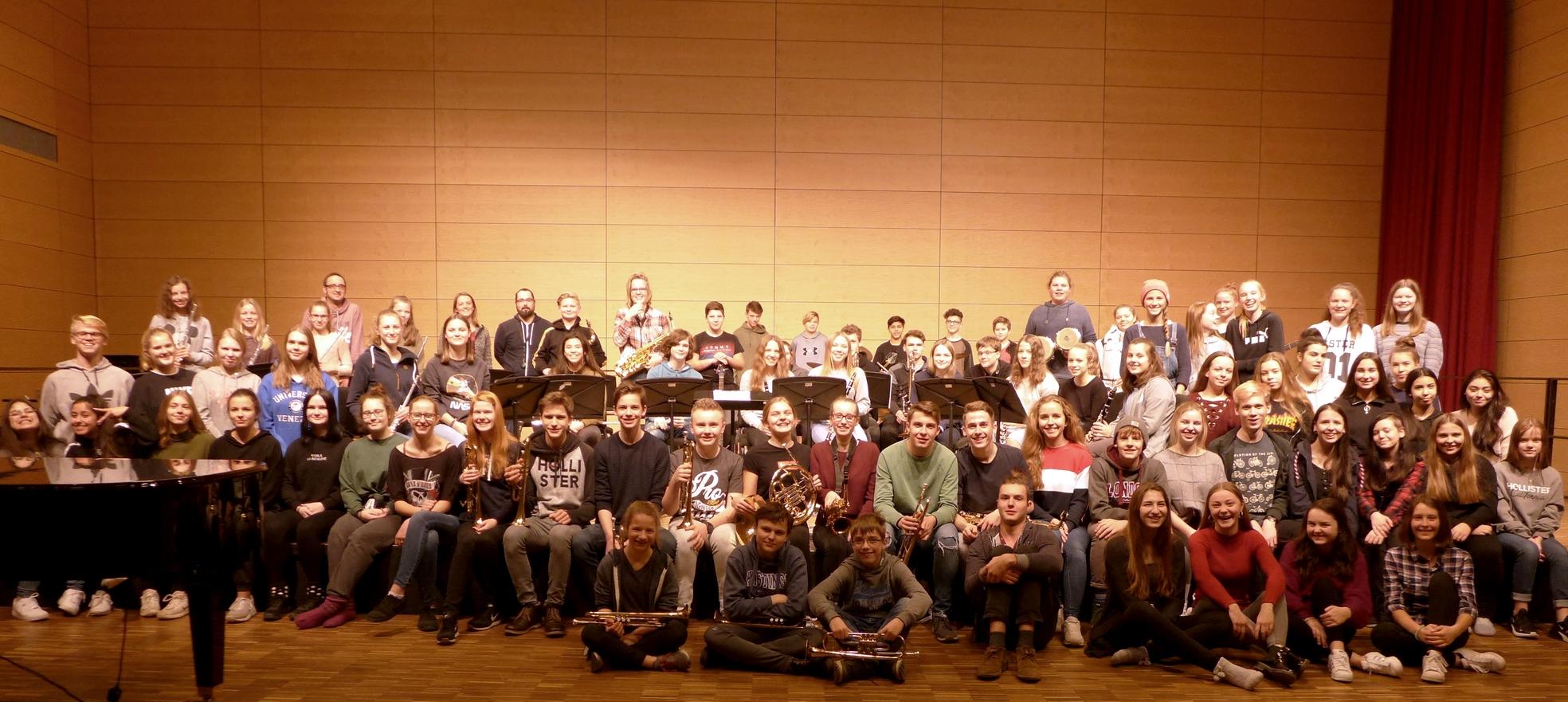 Teilnehmerinnen, Teilnehmer und die Übungsleiter der Probenfahrt 2019-1 nach Wolfenbüttel